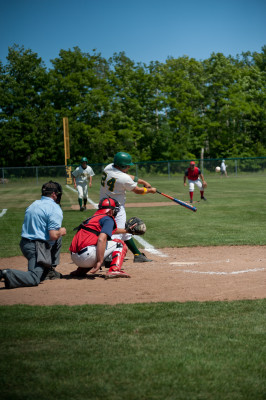 """The """"Grudge"""" rivalry between the Baileys Harbor A's and Sister Bay Bays is one of the fiercest in the County League."""