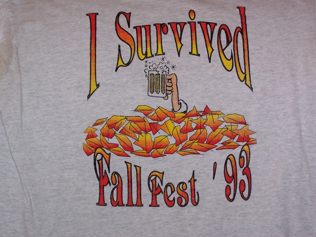 I Survived Fall Fest Shirt