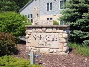 Yacht Club at Sister Bay