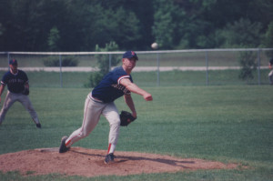 Andy Woerfel followed in his father and uncle by winning the Pitcher of the Year award in 2002 while pitching for West Jacksonport. Photo by Dan Eggert.
