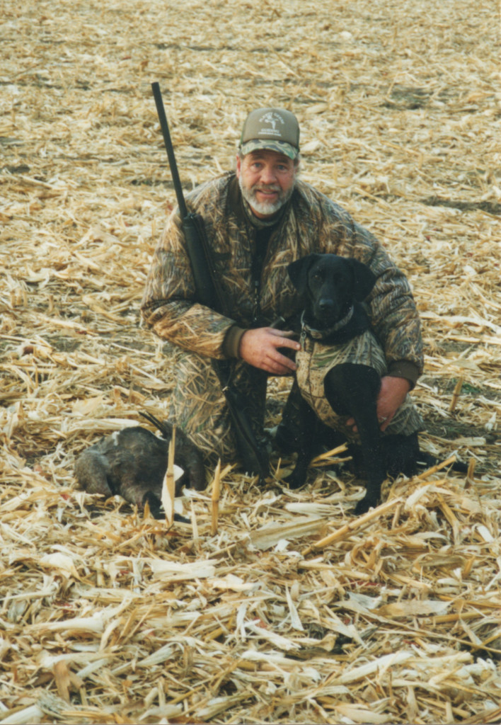 Hunting Buddies:  Joel McOlash
