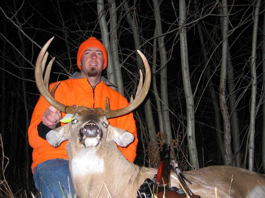 Matt Stender hunting