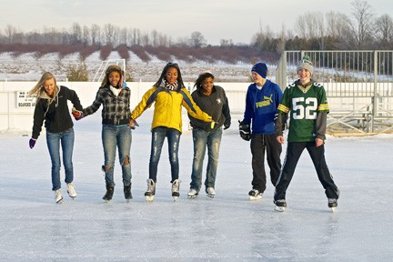 Ice Rink Open Dec. 28, Broomball to Start Jan. 3
