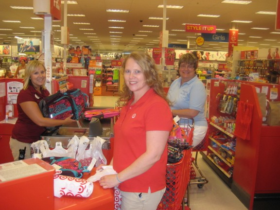 Target Helps Altrusa Get Ready for Back to School Fair - Door ...