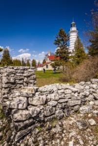 Cana Island Lighthouse. Len Villano.