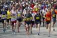 Door County Half Marathon starting line
