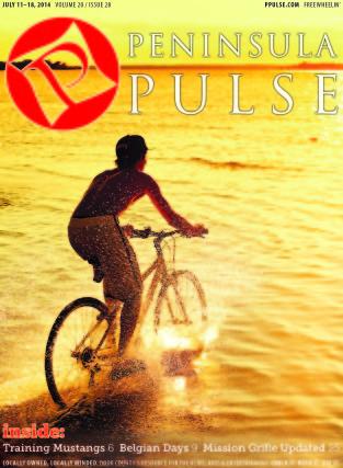 Pulse Cover v20i28 biking in the water