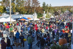 Fall Fest in sister Bay