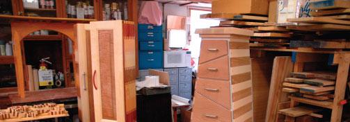 Michael Beaster, woodworking, furniture, Door County, Door County artisan