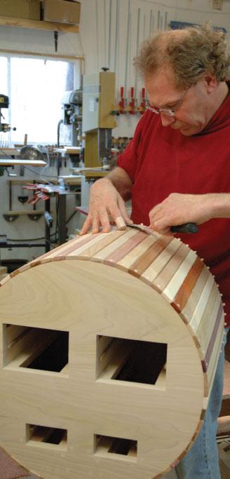 Michael Beaster, Door County, woodworking, furniture