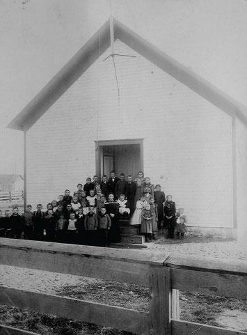 Juddville Schoolhouse, one-room schoolhouse, history, Door County