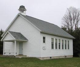 Vignes Schoolhouse, Crossroads at Big Creek, Door County history, Door County