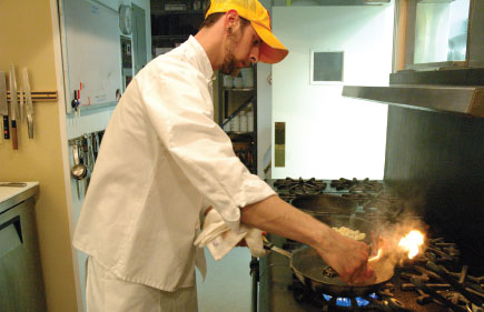 Brian Francois, The Whistling Swan, Whistling Swan, Fish Creek, Door County, restaurant, chefs, cooking