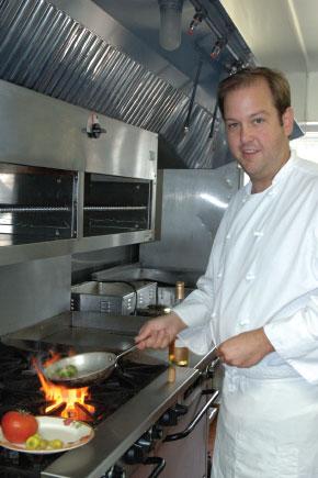 Tom Smith, T. Ashwell's, Door County, restaurant, chef, Door County restaurant