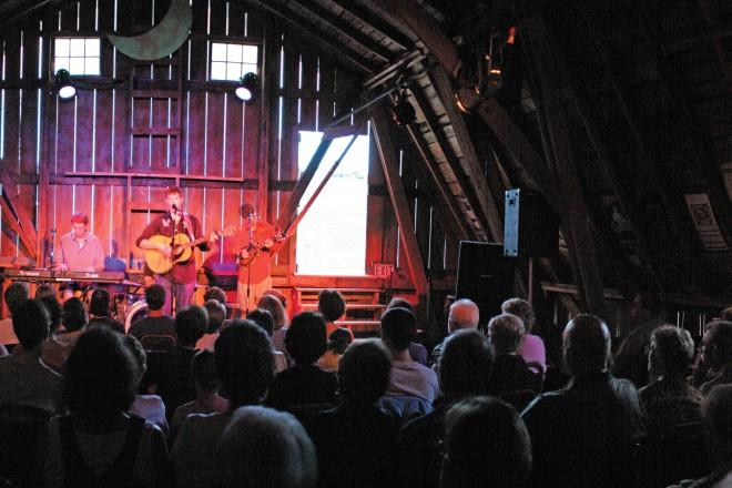 Dan Eggert, Camp David, Fishstock, Blue Spruce