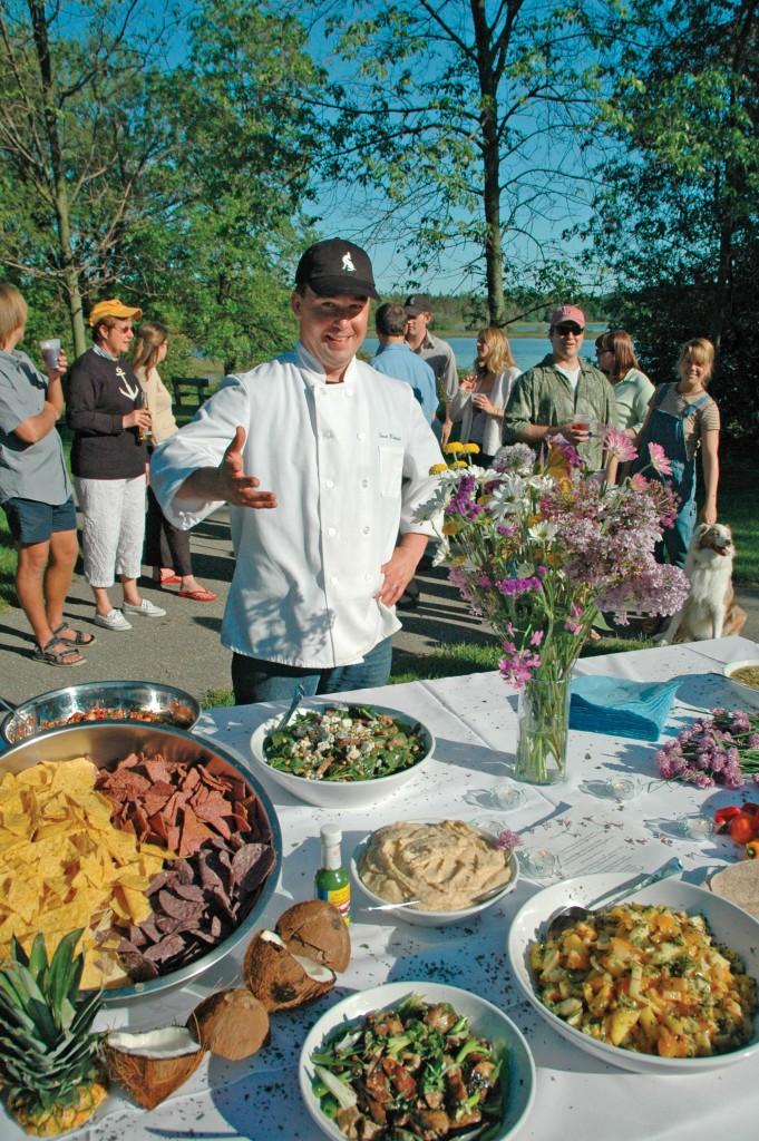 Dan Eggert, Door County, Door County chef, chef