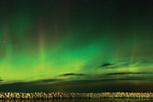 Dan Eggert, northern lights, Door County