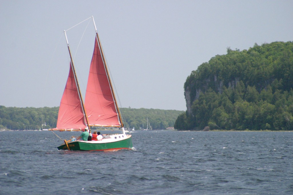 Dan Eggert, Bella Sailing Cruises, Door County