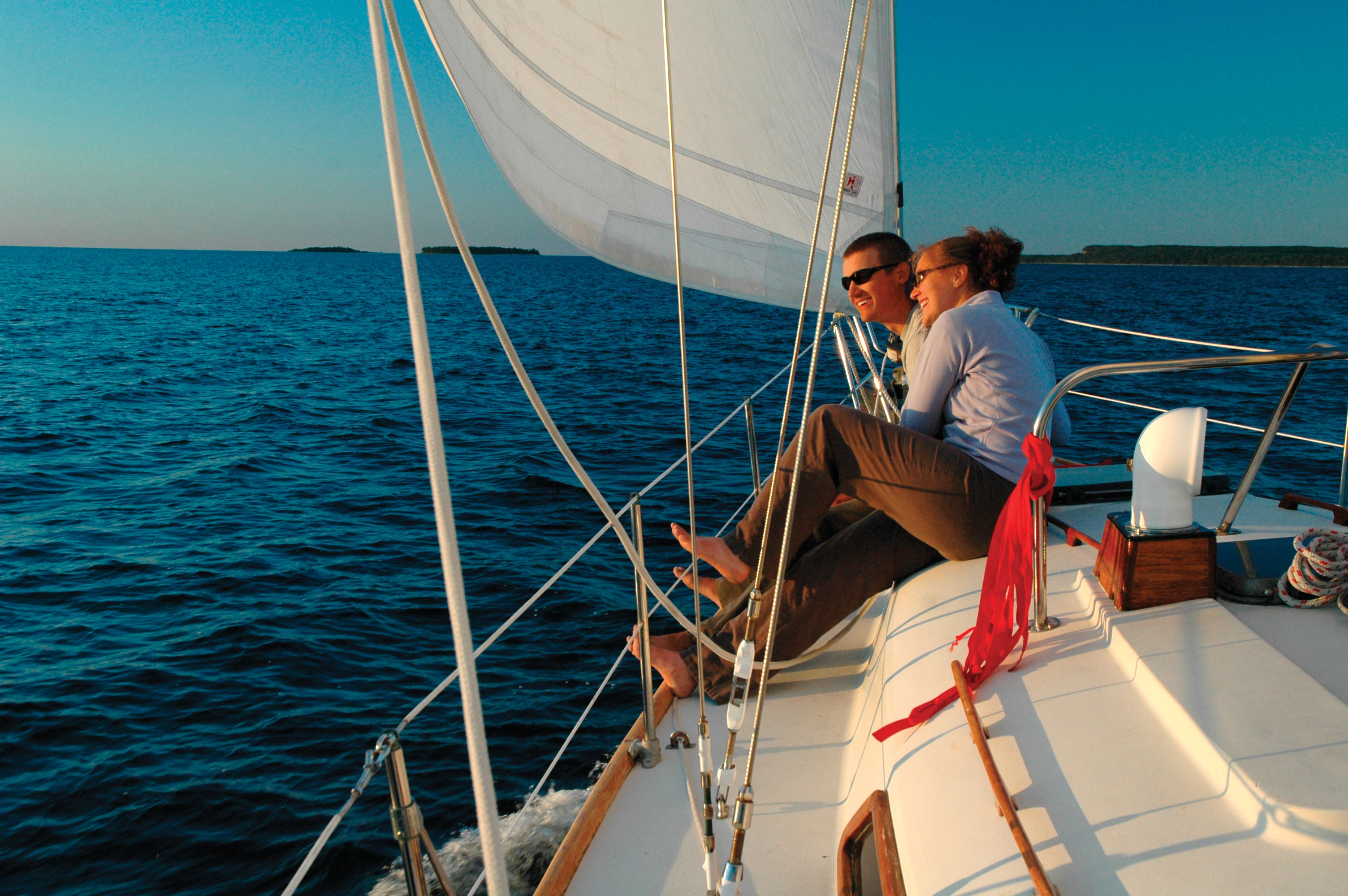 Stiletto Sailing Cruises Door County Pulse