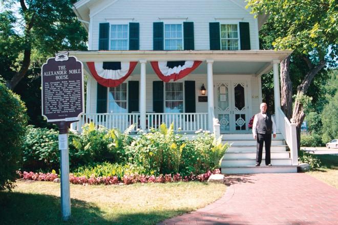 Noble House, Doug Blahnik, Door County, Fish Creek