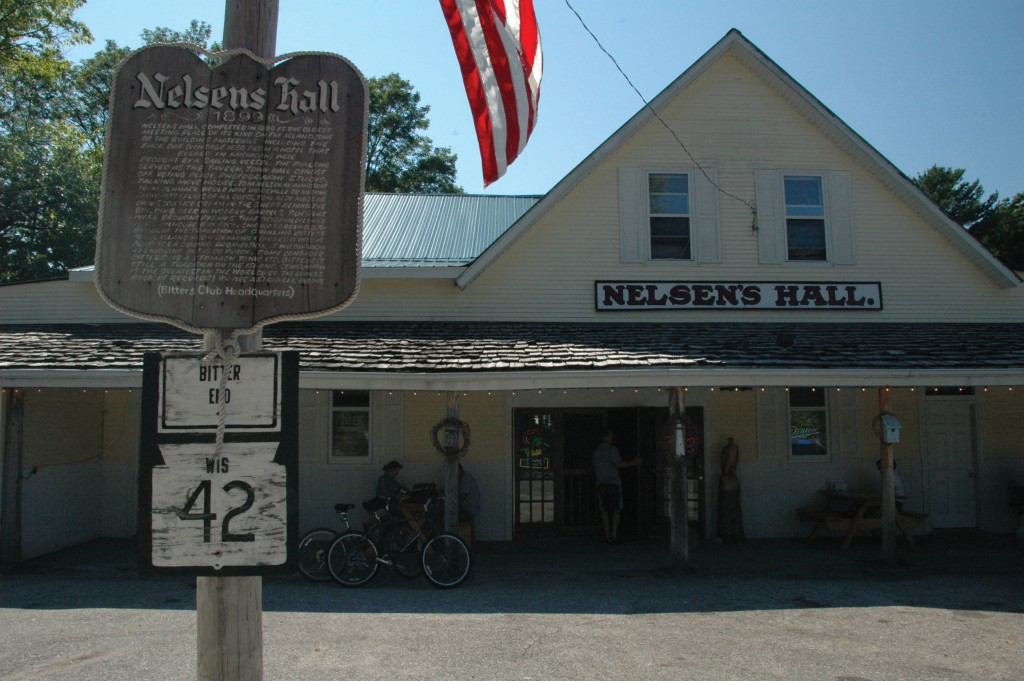 Nelsen's Hall and Bitters Pub on Washington Island.
