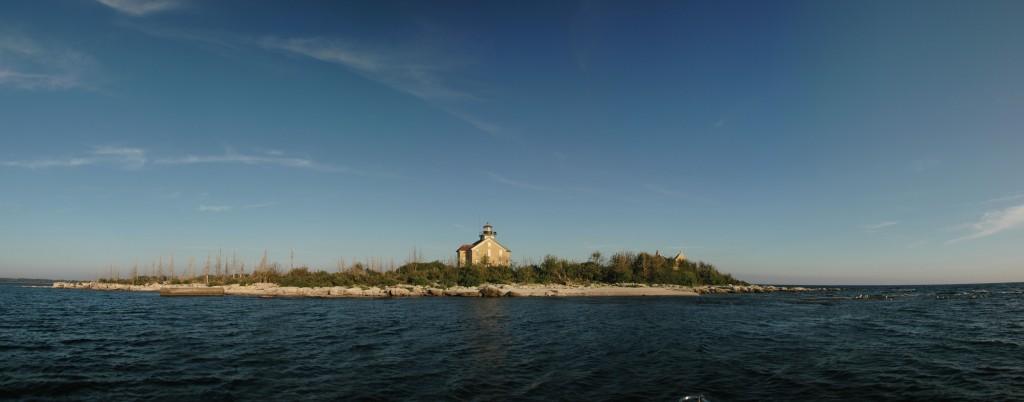 Pilot Island Lighthouse. Dan Eggert.