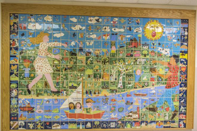 The Tile Murals of Door County Schools  sc 1 st  Door County Pulse & The Tile Murals of Door County Schools - Door County Pulse