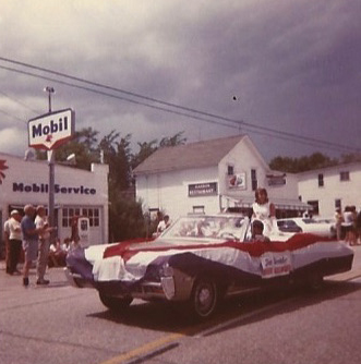 Harvey Haen's Mobil station was a landmark in the center of Egg Harbor for decades.