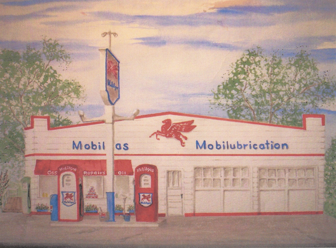 Harvey Haen Mobil Station Egg Harbor