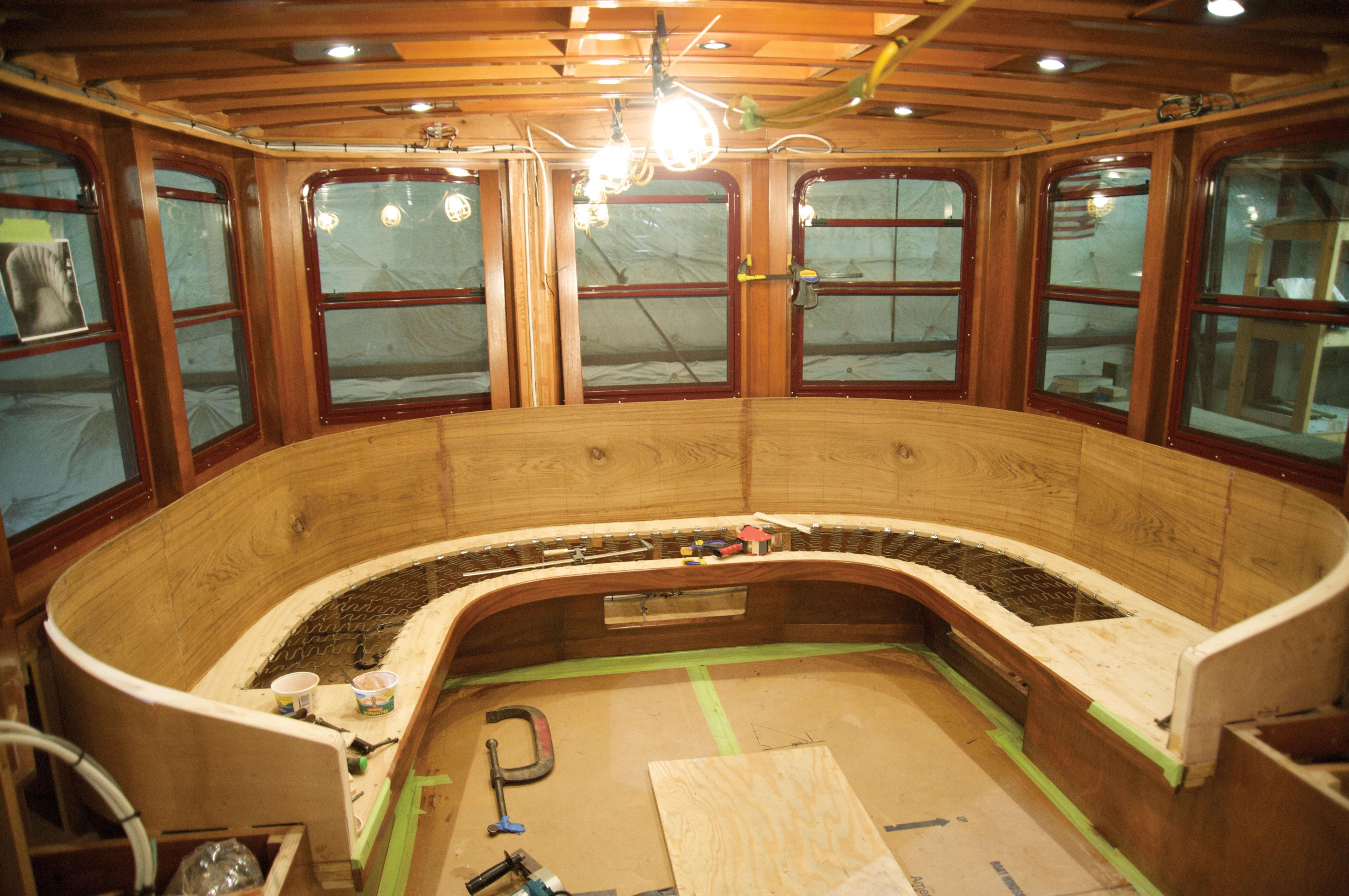 East Coast Commuter Yacht Undergoes A Midwest Refit Door