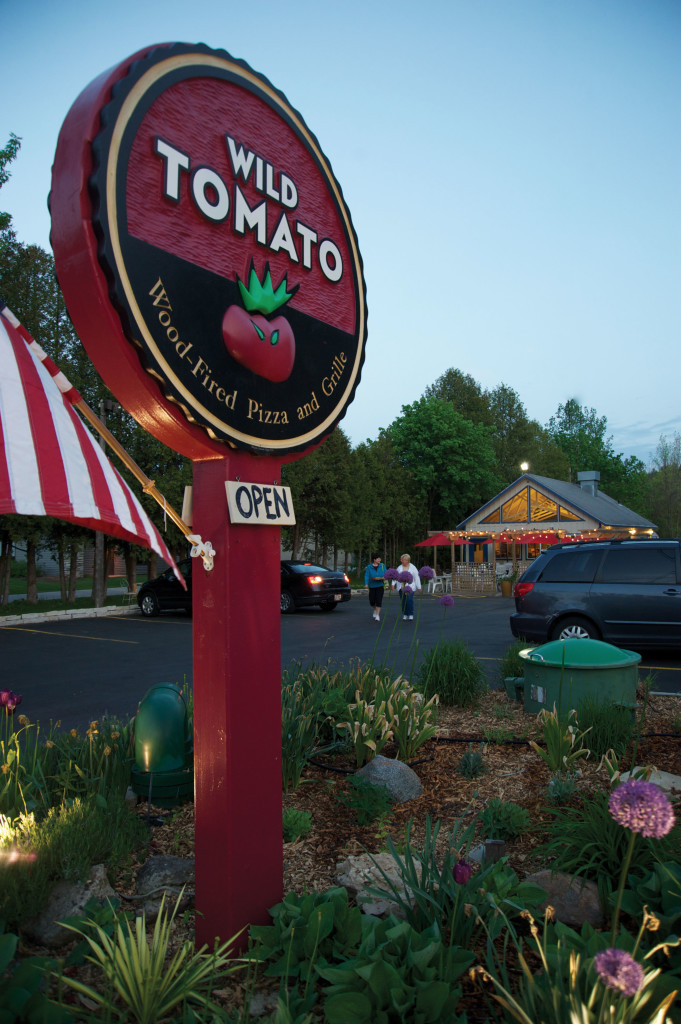 The Wild Tomato sign is one of the most recognizable on the peninsula. Photo by Dan Eggert.