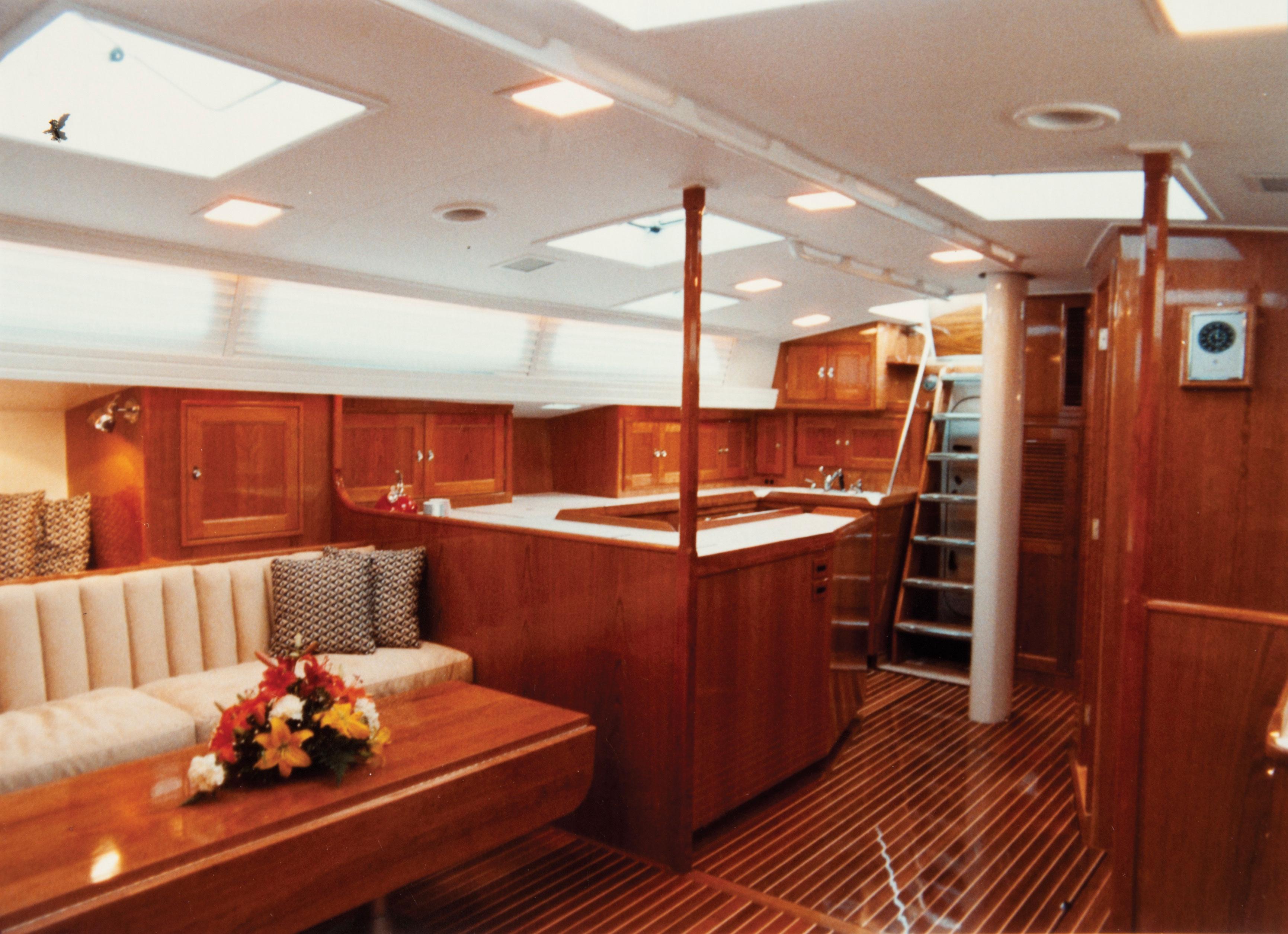 even a big boat u0026 39 s small  palmer johnson craftsman rusty