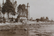 Cana Island Lighthouse. Ferdinand Hotz.