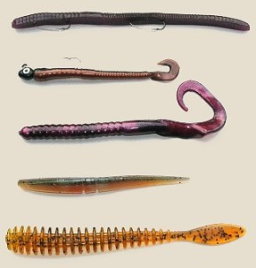 plastic worms