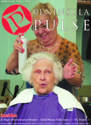 Pulse Cover v21i01 woman getting hair done