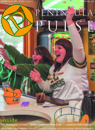 Pulse Cover v21i03 Packers fans Mike's Port Pub