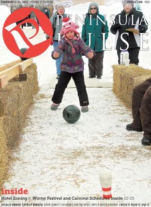 Pulse Cover v21i06 Snow Bowling Fish Creek Winter Games