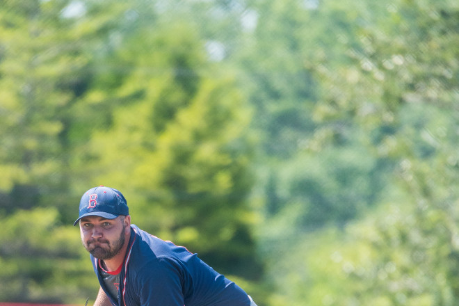 Ryan Demmin Sister Bay Bays baseball