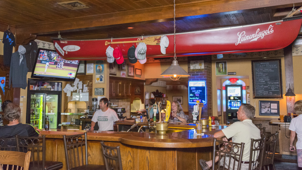The Bayside Tavern is as close to Cheers as you'll find in Door County. Photo by Len Villano.
