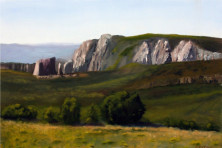 Chuck Eaton oil painting