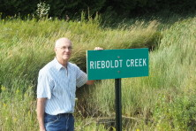 Rieboldt Creek Sign