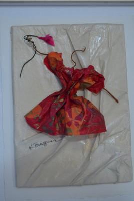 Kirsten Bungener. Paper dress. Ephraim.