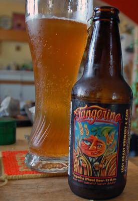 Lost Coast Brewery's Tangerine.