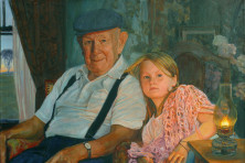 """Grandfather's House"" by James Hempel."