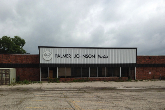 palmer johnson empty building