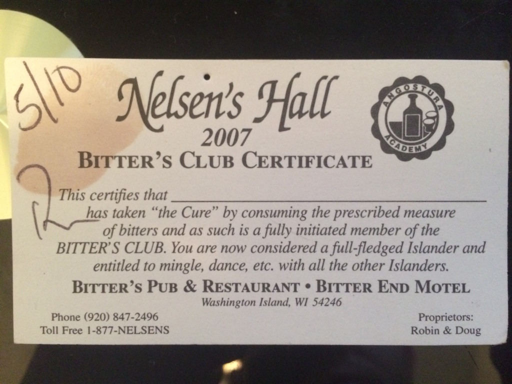 Bitter's Club Card