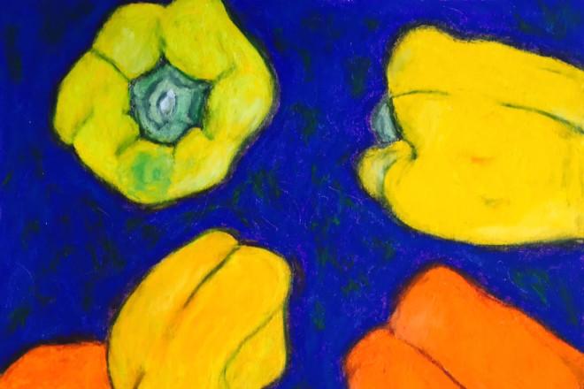 """Peppers"" by Christy Kelly-Bentgen."