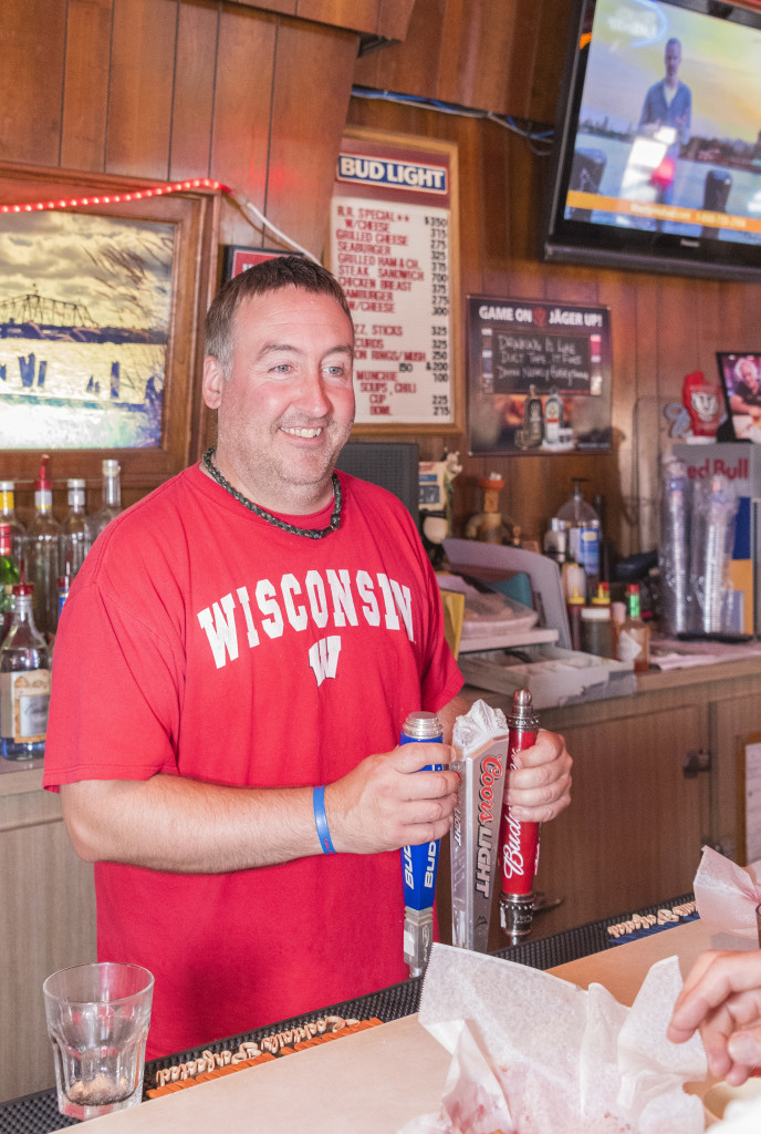 Joe Hoffman is part of the third generation of Hoffmans to run the bar. Photo by Len Villano.