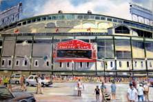 Wrigley Field. Randy Rasmussen.