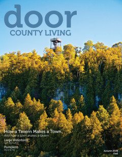 Door County Living Cover v13i3 Eagle Bluff tower Eagle Tower